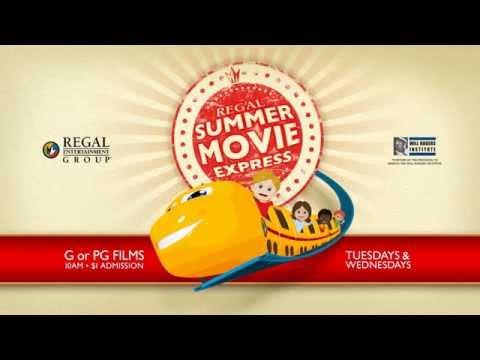 Summer Movie Express at Regal Cinemas