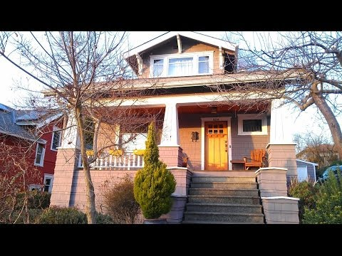 Tour of 1914 Craftsman Bungalow in Ballard, Seattle
