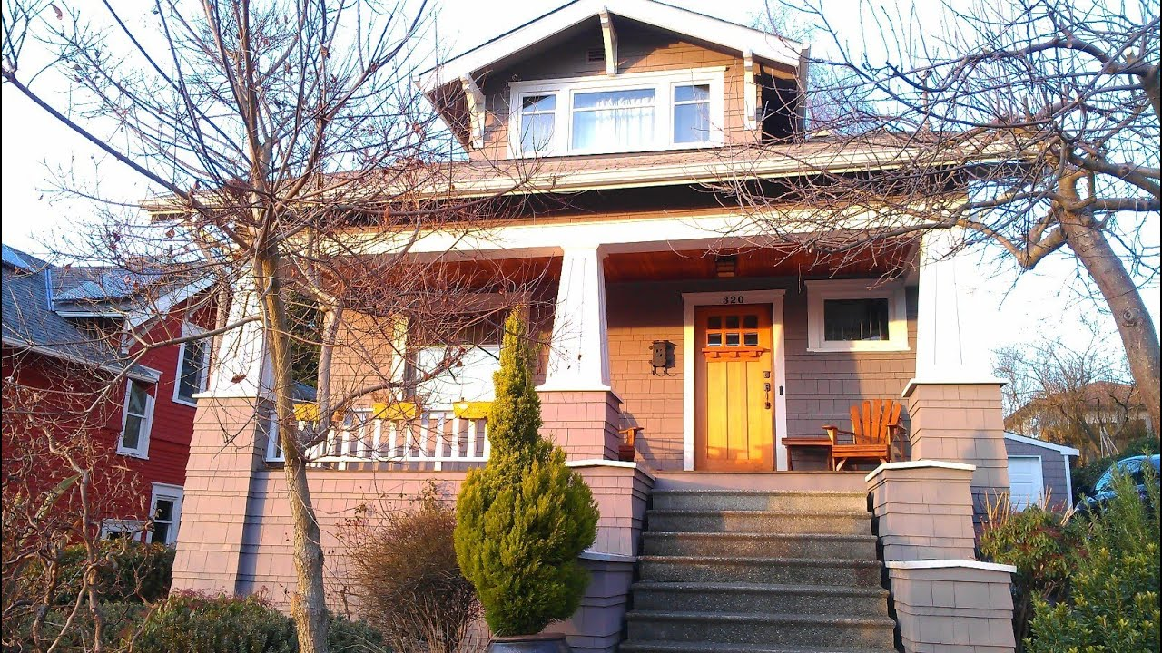 Tour Of 1914 Craftsman Bungalow In Ballard Seattle