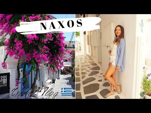GREECE Summer Vlog 2018: Holiday in NAXOS, Διακοπές στη Νάξο part 1 #Naxos |Olga-Maria Riante
