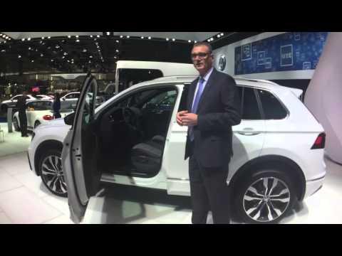 Qatar Motor Show | Volkswagen Tiguan