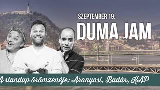 Duma Jam szeptemberben | Dumaszínház