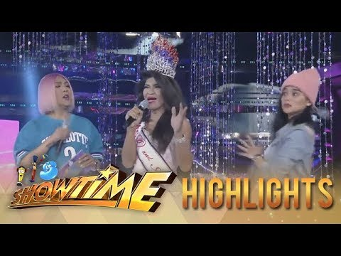 It's Showtime Miss Q & A: President Ganda shocks Vice Ganda and Anne