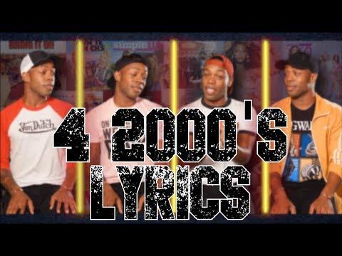 4 The 2000's「Todrick Hall」[On Screen Lyrics]