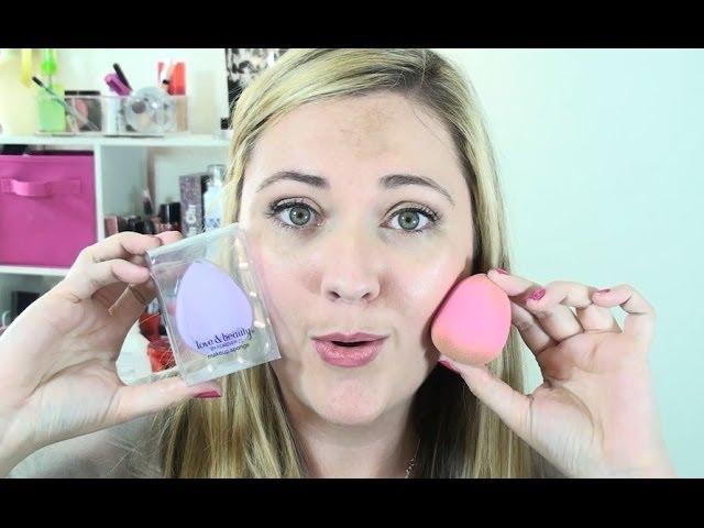F21 vs Beauty Blender Sponges