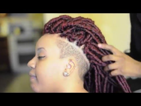 Crochet Braids Tutorial Pre Faux Locs Youtube