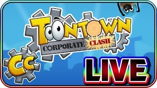 Toontown Corporate Clash First Impressions Live With ToonRusty