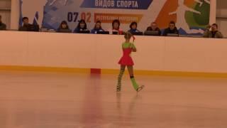 Фигурное катание. Покатилова Александра 7 лет (2008 г. р.) 2 юн. р.  3 место!