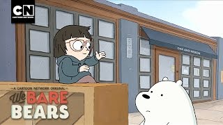 We Bare Bears | Chloe & Ice Bear Duet | Cartoon Network