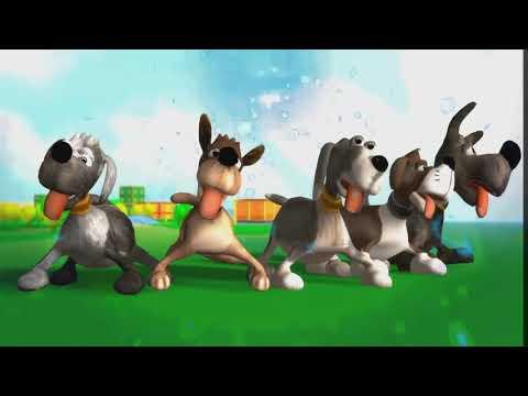 intelligent cartoon dog   doggy video for kids   kids world