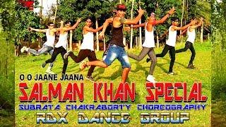 Salmaan Khan Special Dance Performance by RDX DANCE GROUP BONGAON | Subrata Chakraborty Choreography