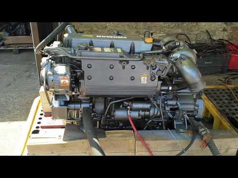 Yanmar 4LH-TE 110hp Marine Diesel Engine