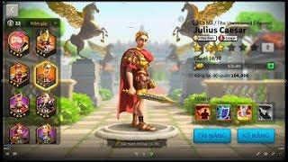 Rise of Civilizations - Tướng Julius Caesar - Cách chơi như thế nào ?