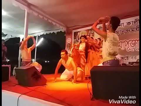 Ai Giri Nandini Dance Performance By Nayirita Kriti & Others.Choreographer- Jewel Sarker