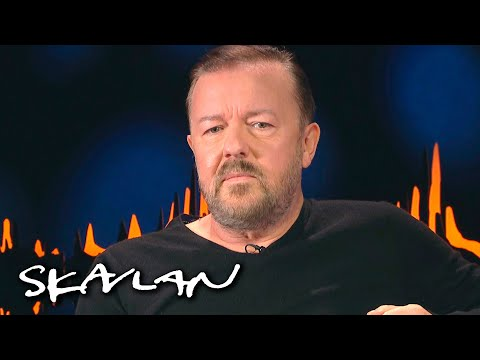 – If you're mildly conservative on Twitter, you're Hitler | Ricky Gervais | SVT/TV 2/Skavlan