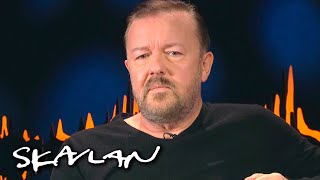 - If you're mildly conservative on Twitter, you're Hitler | Ricky Gervais | SVT/TV 2/Skavlan