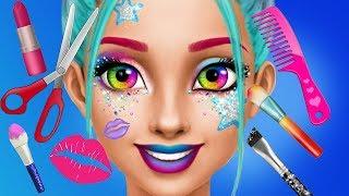 Fun Hannah High School Teen Cheerleader Makeup Dress Up Spa Makeover Kids & Girls Games