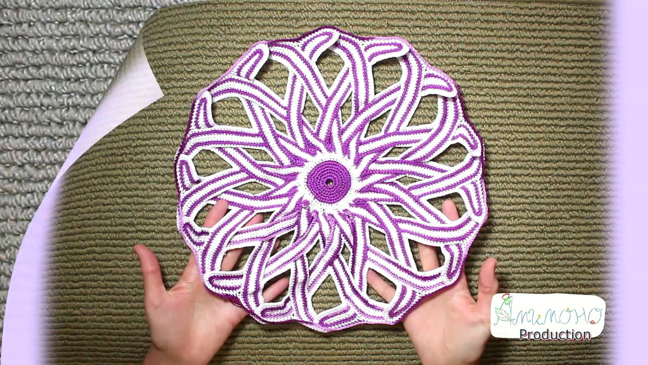 3 Free Style Mandala 3 Crochet Youtube