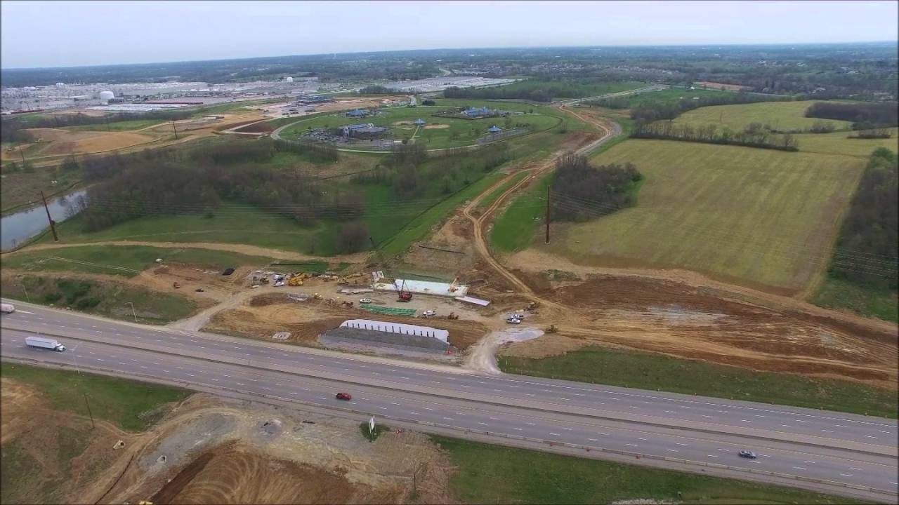 New I 75 Overpass At Georgetown Ky Youtube