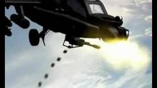 AH-64 Apache Helicóptero de Animación CGI de Prueba