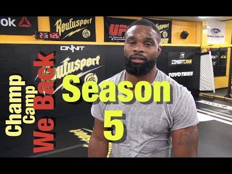 UFC 228: Champ Camp 5 Tyron Woodley Ep.1