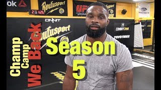 UFC 228: Champ Camp 5 Tyron Woodley Ep.1