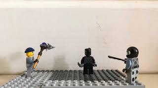 *New Series* (Shorts) Wakanda's loss... Lego Stop Motion!