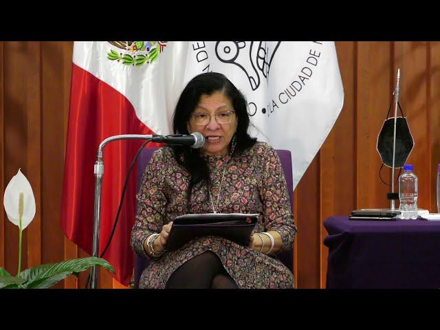 Discurso de Nashieli Ramírez, Presidenta de la CDHCM, en la Inauguración del LII Congreso FMOPDH