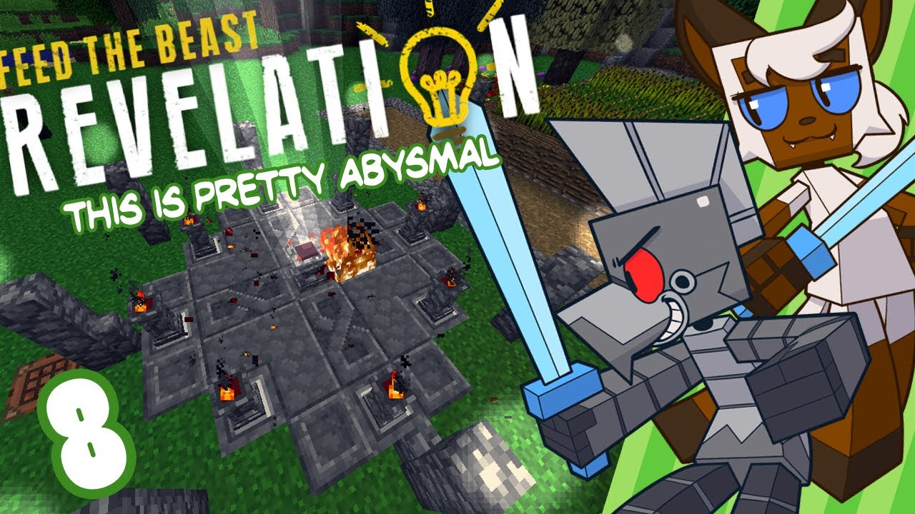 [MODDED] Minecraft (FTB Revelations) Part 8: This is Pretty Abysmal