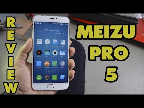 MEIZU PRO 5 - Review en Español