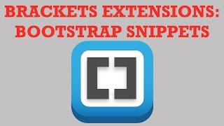 Brackets Extensions  - Bootsrap Sarter Template and ACB Bootstrap Snippets