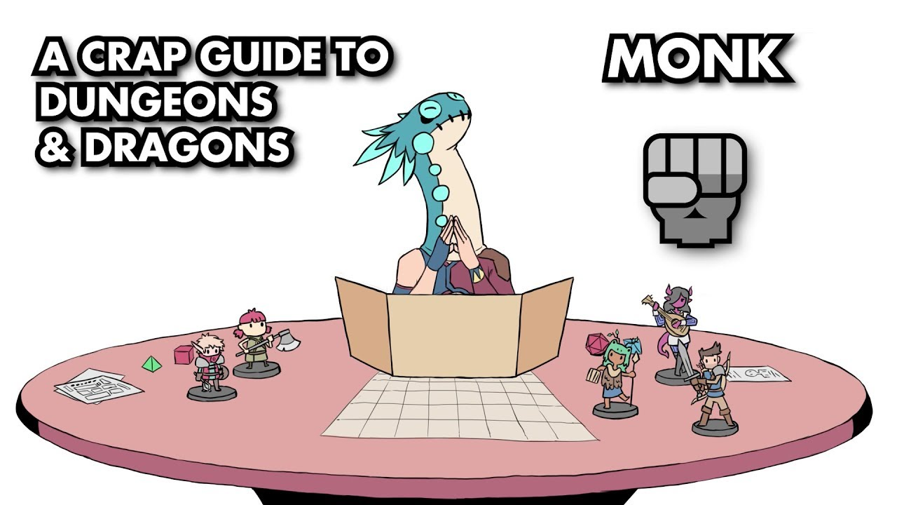 A Crap Guide to D&D [5th Edition] - Monk