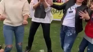 زينة ترفض تصوير ابنيها في عيد ميلاد نجل بوسي