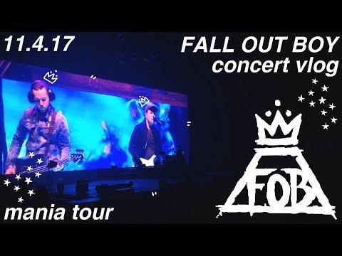 fall out boy | mania tour @ philips arena, atlanta | concert vlog