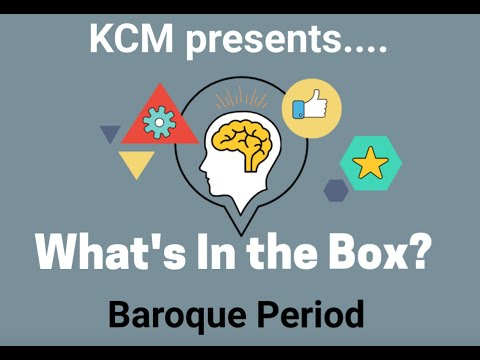 What's in the box - Baroque Period