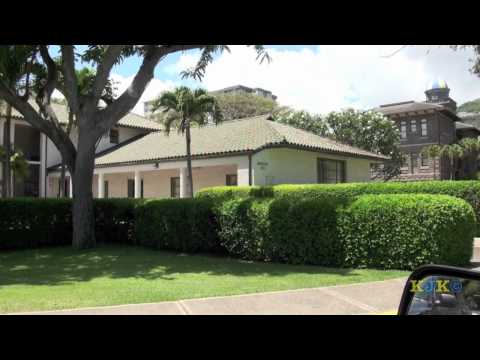 A Visit to Punahou School