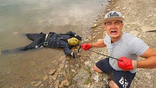 Эти жуткие и опасные находки мы нашли на магнитной рыбалке где пропал убийца