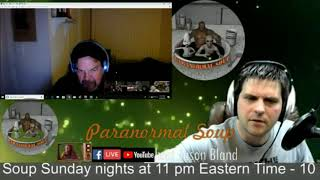 Paranormal Soup ITC Collective Night 02/24/19 Tylor calls in