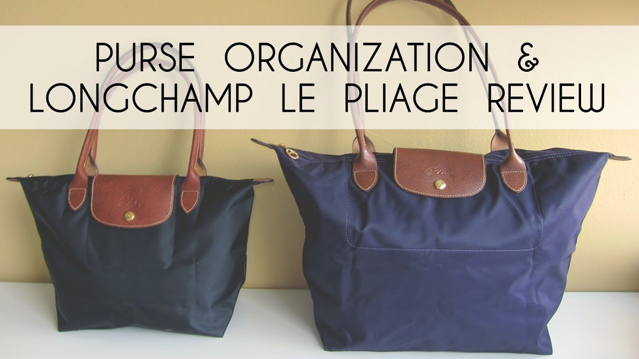 Purse Organization (Longchamp Le Pliage Review)   What s In My Bag ... fa72924bb0fa2