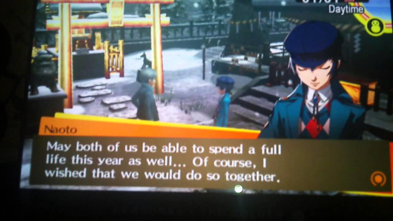 Persona 4 golden dating naoto