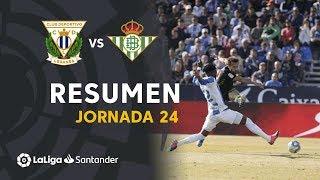 Highlights Cd Leganés Vs Real Betis (0 0)