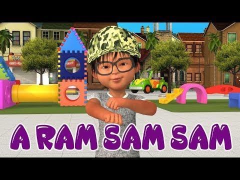 Cele mai frumoase cantece pentru copii – A Ram Sam Sam – Cantece pentru copii in limba romana