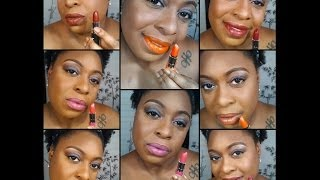 NYX Butter Lipstick Lip Swatches Thumbnail