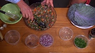 Lentil Vegetable Salad - Nourishing Recipes