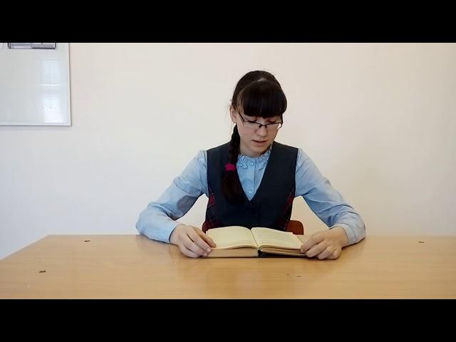 Изображение предпросмотра прочтения – КамилаГазизянова читает отрывок изпроизведения «Матренин двор» А.И.Солженицына
