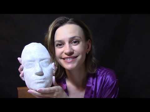 Силиконовое лицо (силиконовый слепок) своими руками Арт-студия Натальи 7