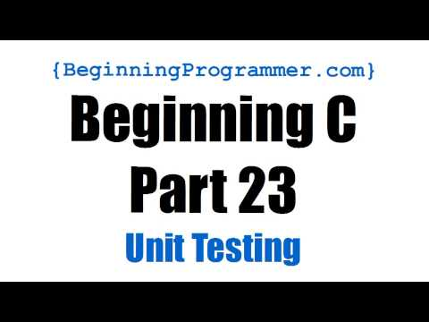 Beginning C - Part 23 Unit Testing a Permutation