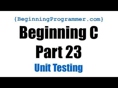 Beginning C - Part 23 Unit Testing a Permutation