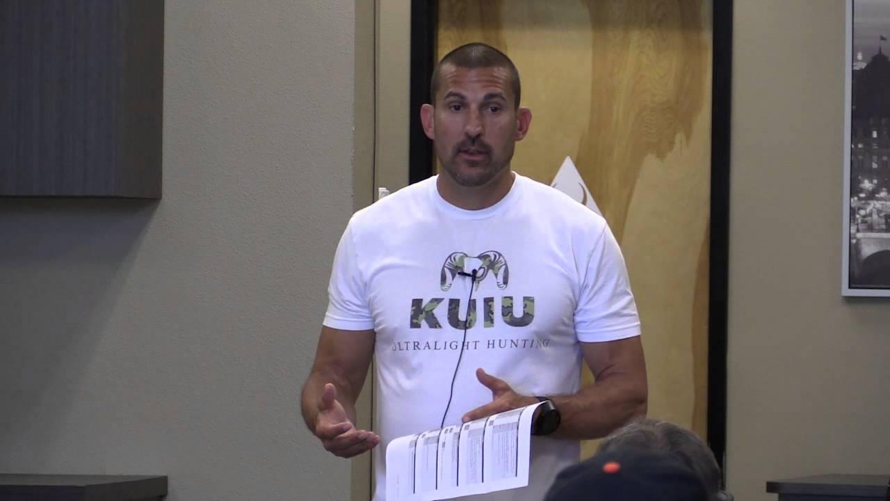 Kuiu Garage Sale Seminars Jason Hairston Packing For A