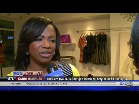 Kandi Burruss live with AXSLive from her boutique TAGS in